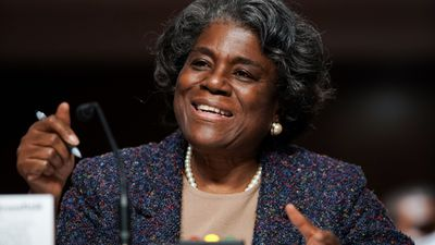 The Senate Foreign Relations Committee examines the nomination of Linda Thomas-Greenfield for UN Ambassador
