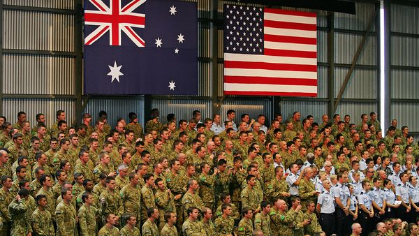 Australia yet to follow US out the Afghanistan door