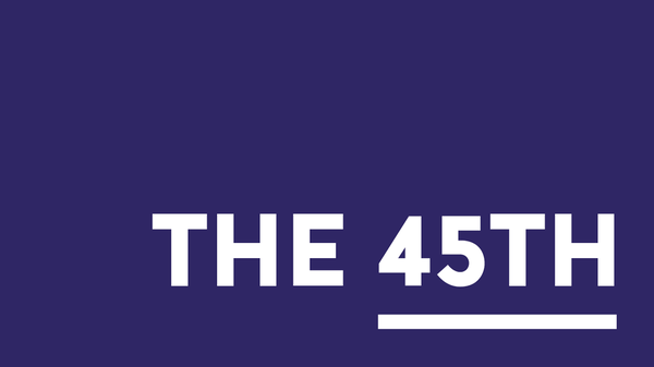 The 45th | A Thanksgiving transition